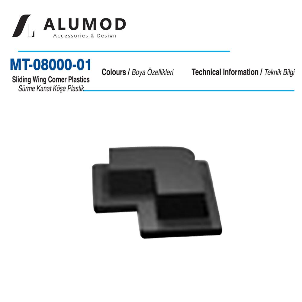 MT-08000-01 Sürme Kanat Köşe Plastiği