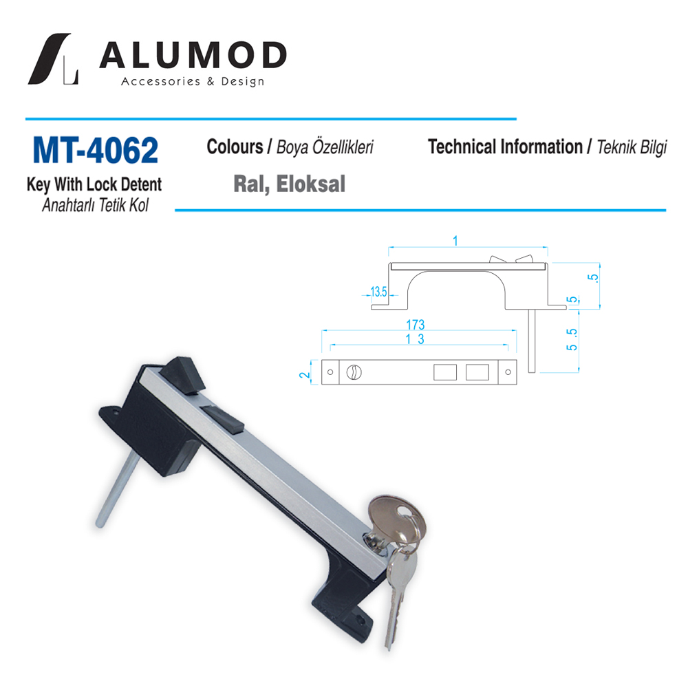 MT-4062 Anahtarlı Tetik Kol