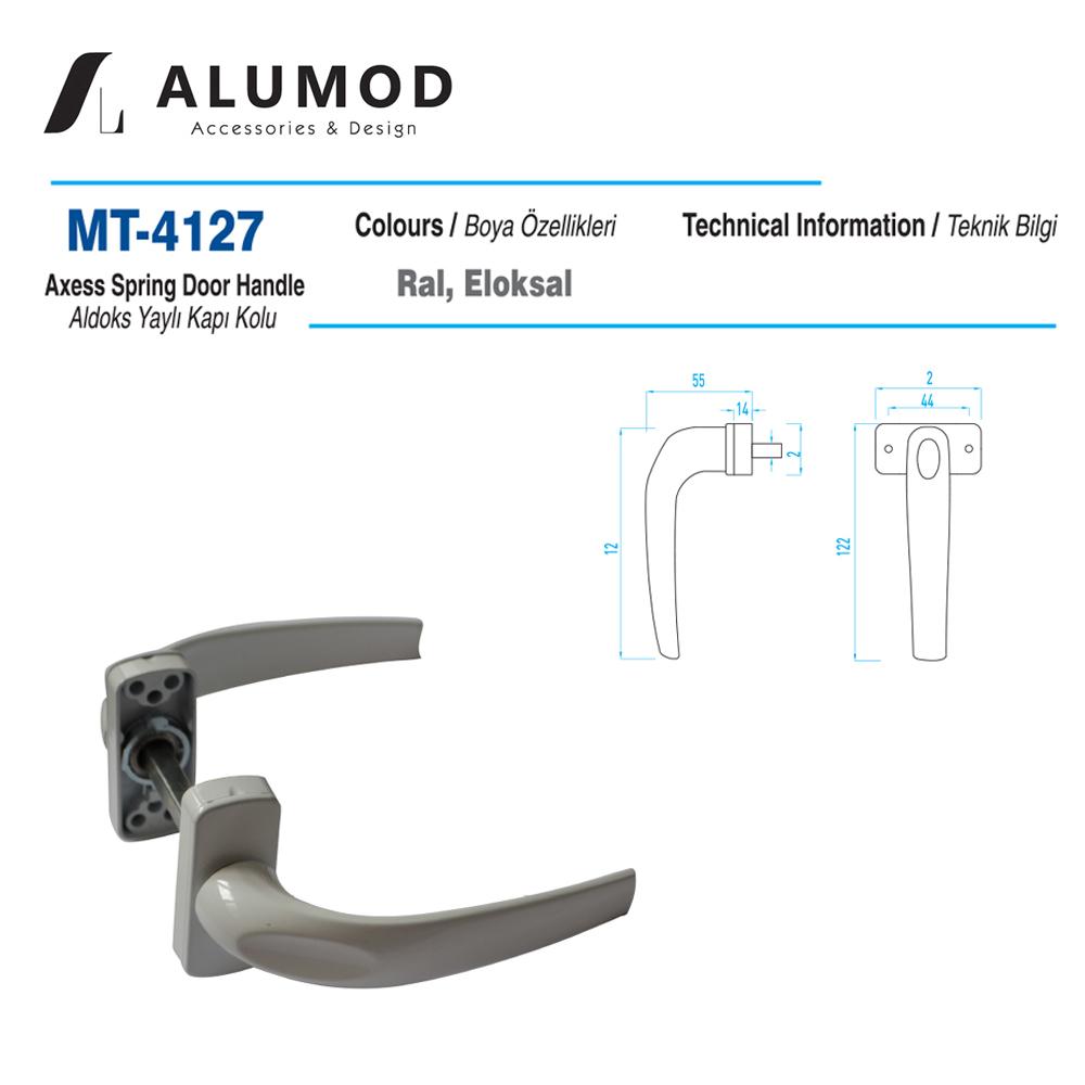 MT-4127 Aldoks Yaylı Kapı Kolu