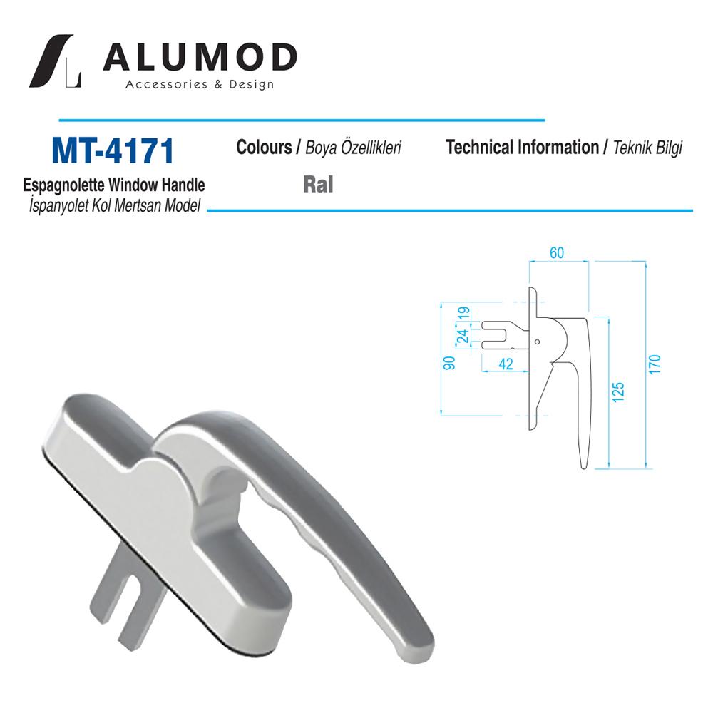 MT-4171 Lüx İspanyolet kol