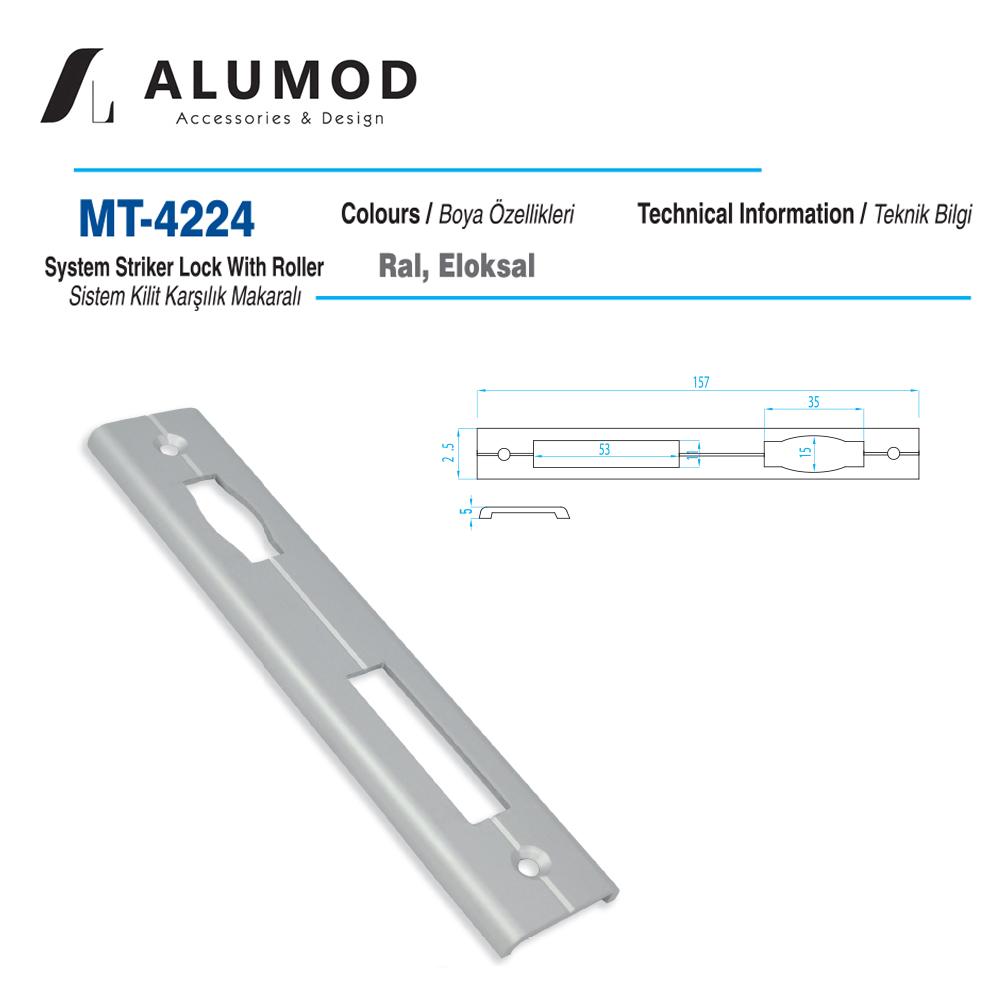 MT-4224 Sistem Kilit Karşılığı Makaralı.