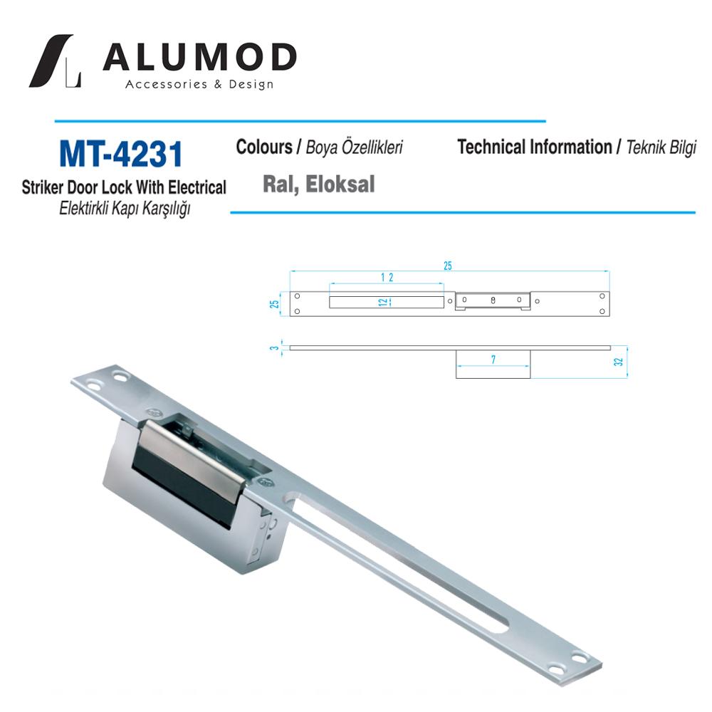 MT-4231 Elektirikli Kilit Karşılığı