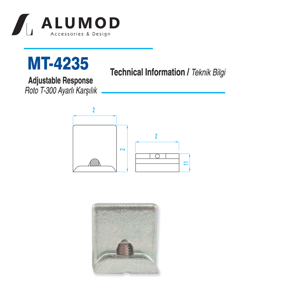 MT-4235 Roto T 300 Karşılık