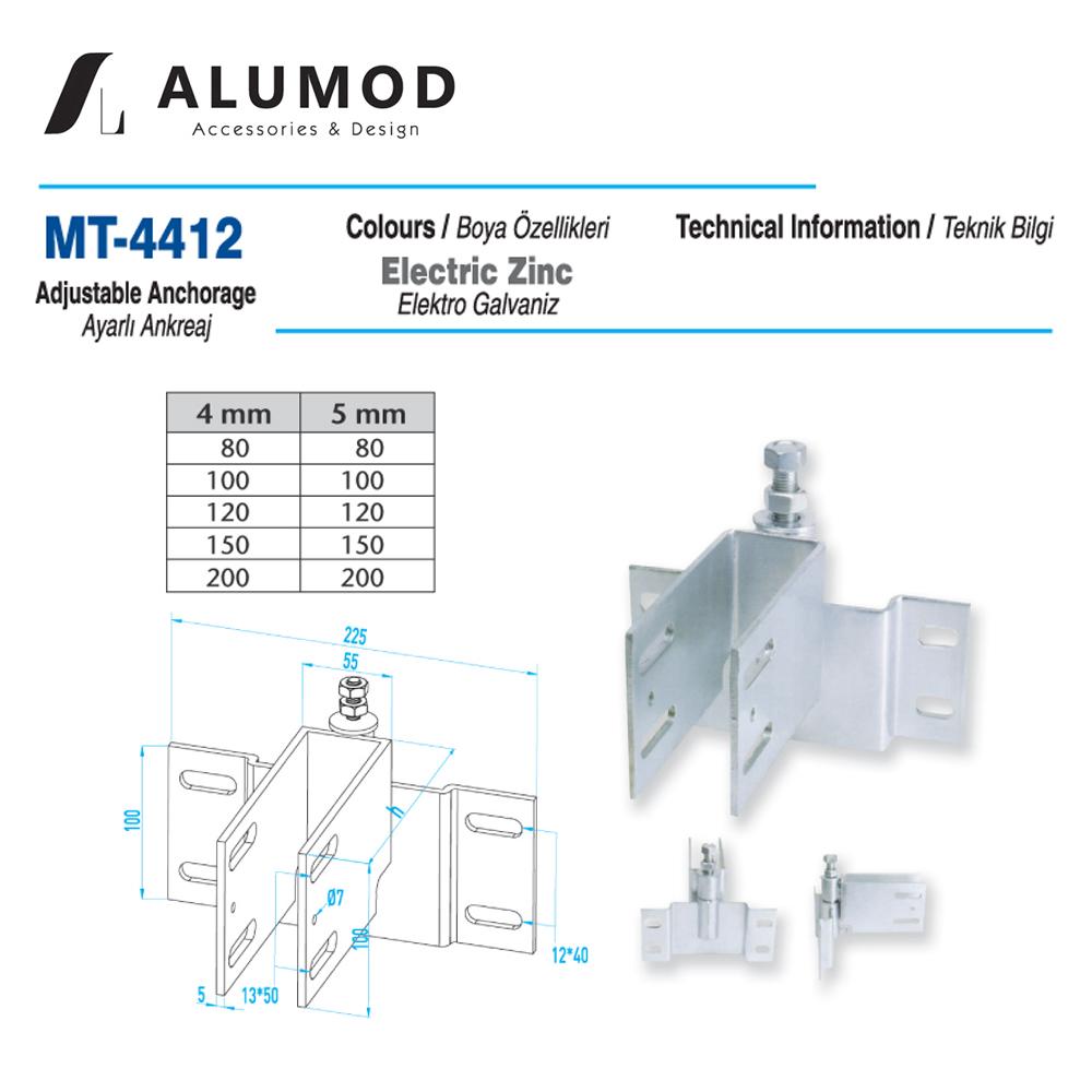 MT-4412 Ayarlı Ankreaj