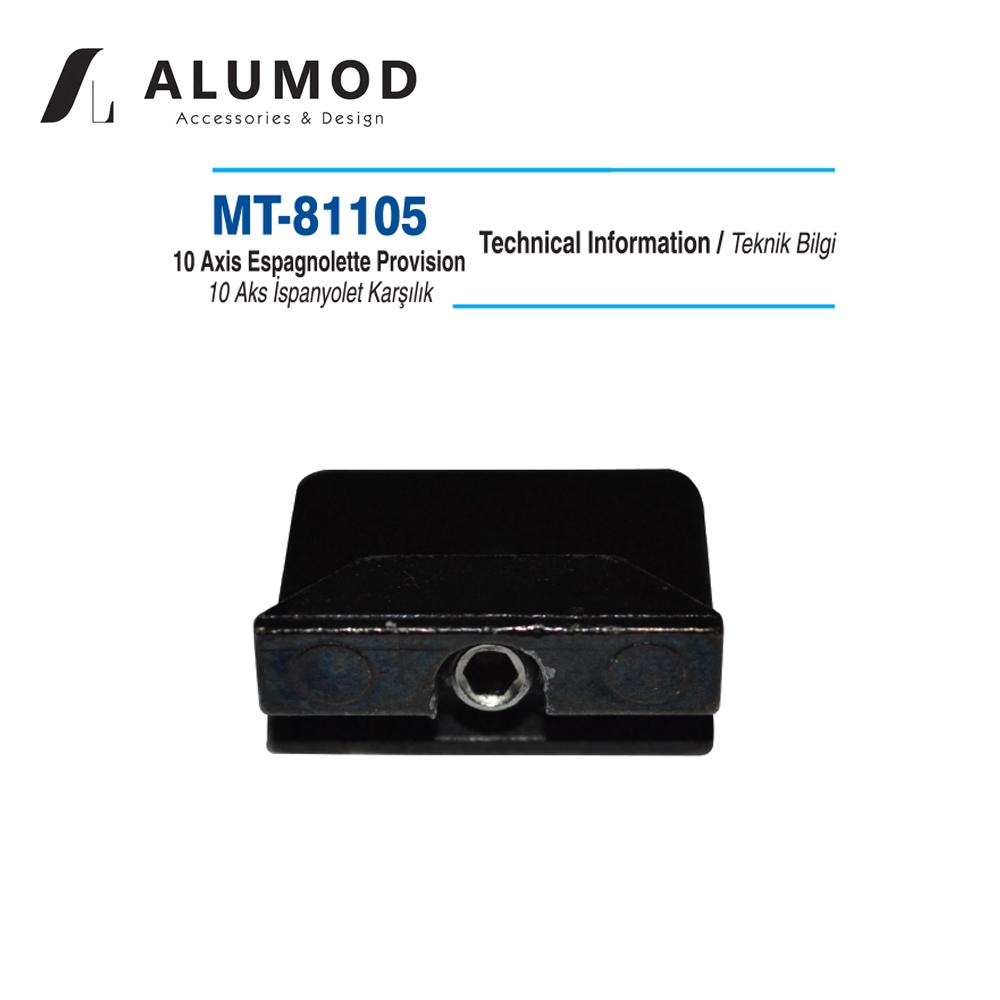 MT-81105 10 Aks İspanyolet Karşılığı