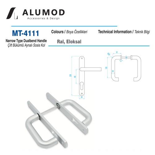 MT-4111 Sosis Kol Kıvrık Aynalı Yale