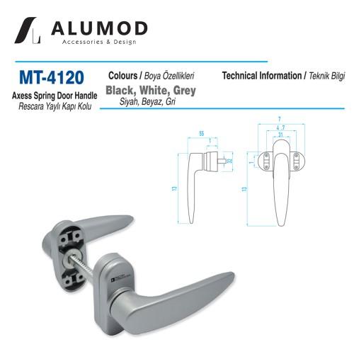MT-4120 Rescara Yaylı Kapı Kolu