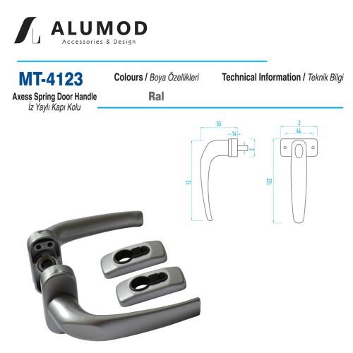 MT-4123 İz Yaylı Kapı Kolu