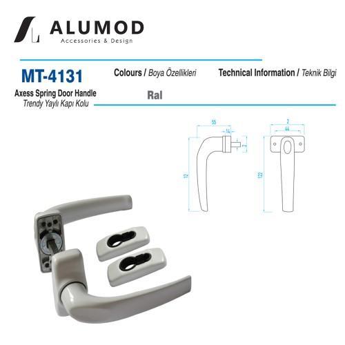 MT-4131 Trendy Yaylı Kapı Kolu