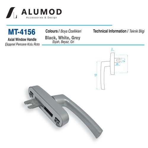 MT-4156 Roto Eksenel Pencere Kolu tek Maçaı