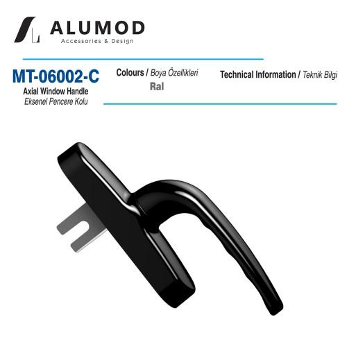 MT- 06002-C Eksenel Pencere Kolu