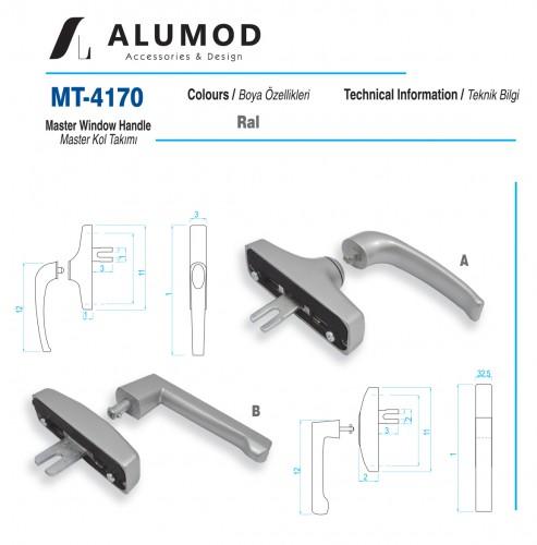 MT-4170 Master Kol takımı Eksenel kol