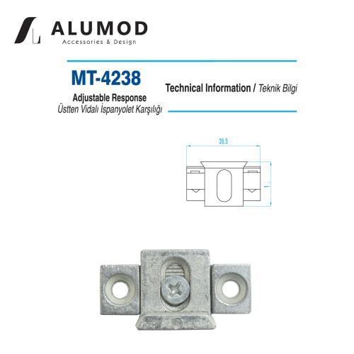 MT-4238 Zamak Ayarlı Karşılık