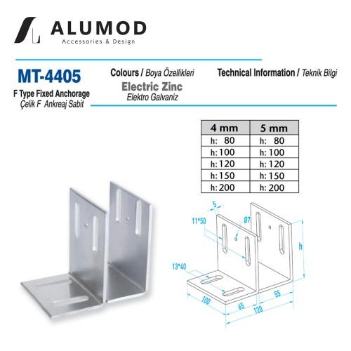 MT-4405 Çelik F Ankreaj Sabit