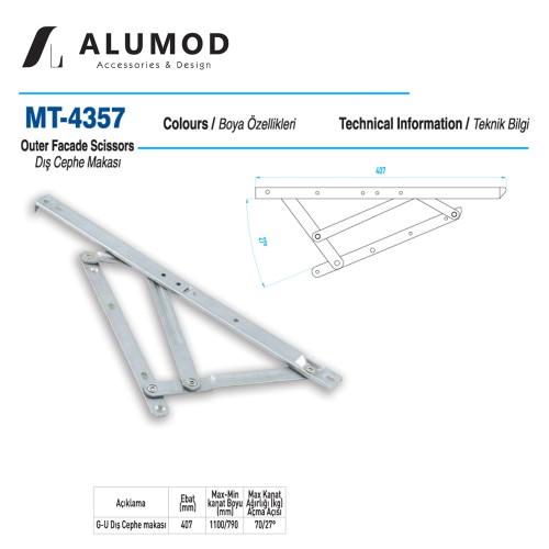MT-4357 G-U Cephe Makası