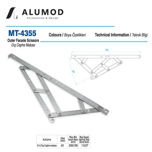 MT-4355 G-U Cephe Makası
