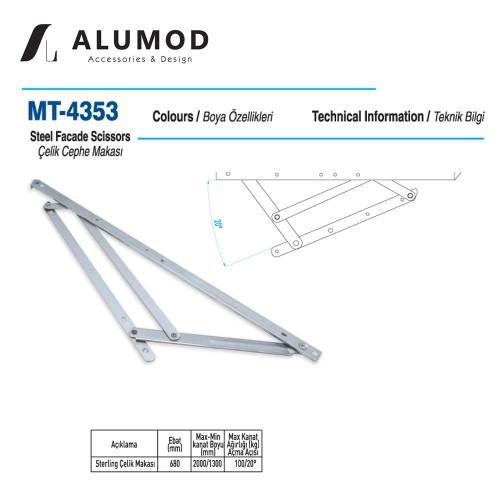 MT-4353 Sterling Çelik Cephe Makası
