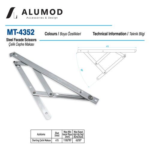 MT-4352 Sterling Çelik Cephe Makası